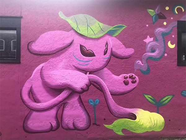 Mural in Midtown KC